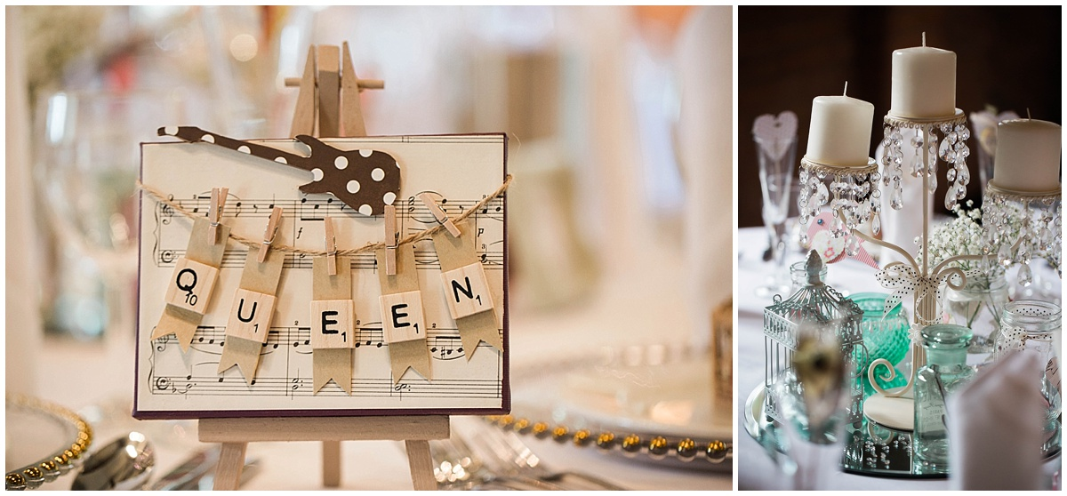 Table names for wedding