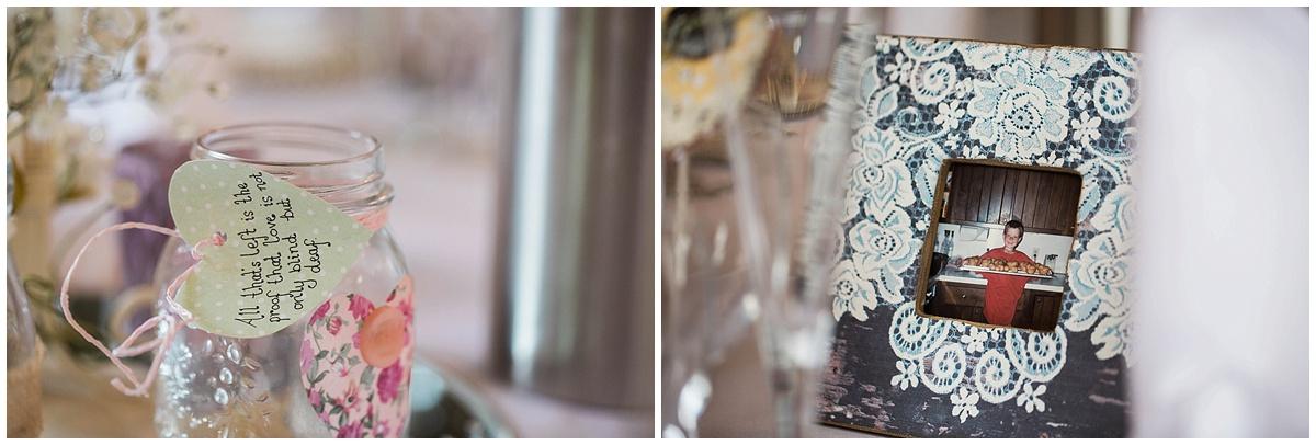 wedding details, centre pieces