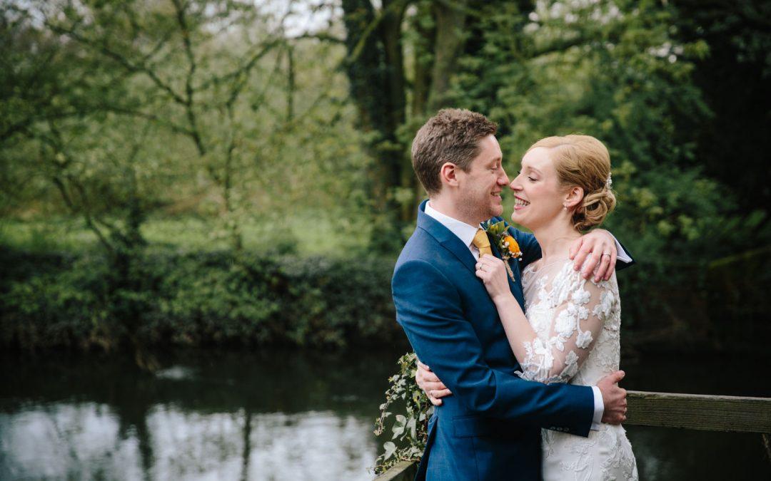SPRING WEDDING AT THE SAXON MILL | SUSAN & PETE