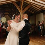 Bride and groom first dance at Dodford Manor