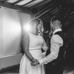 Bride & Groom dancing at Dodford Manor wedding
