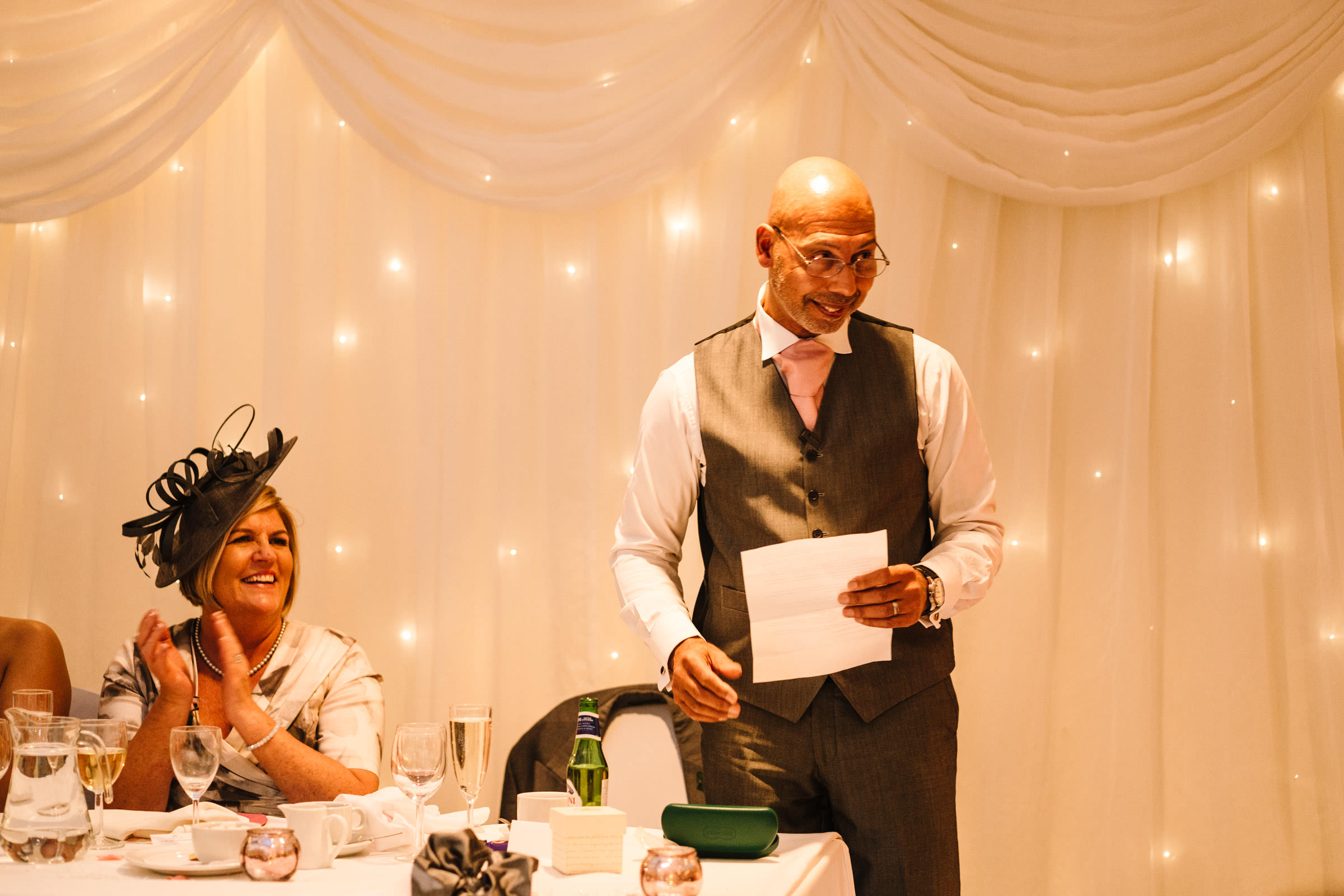 Father of the bride speech, nailcote hall wedding