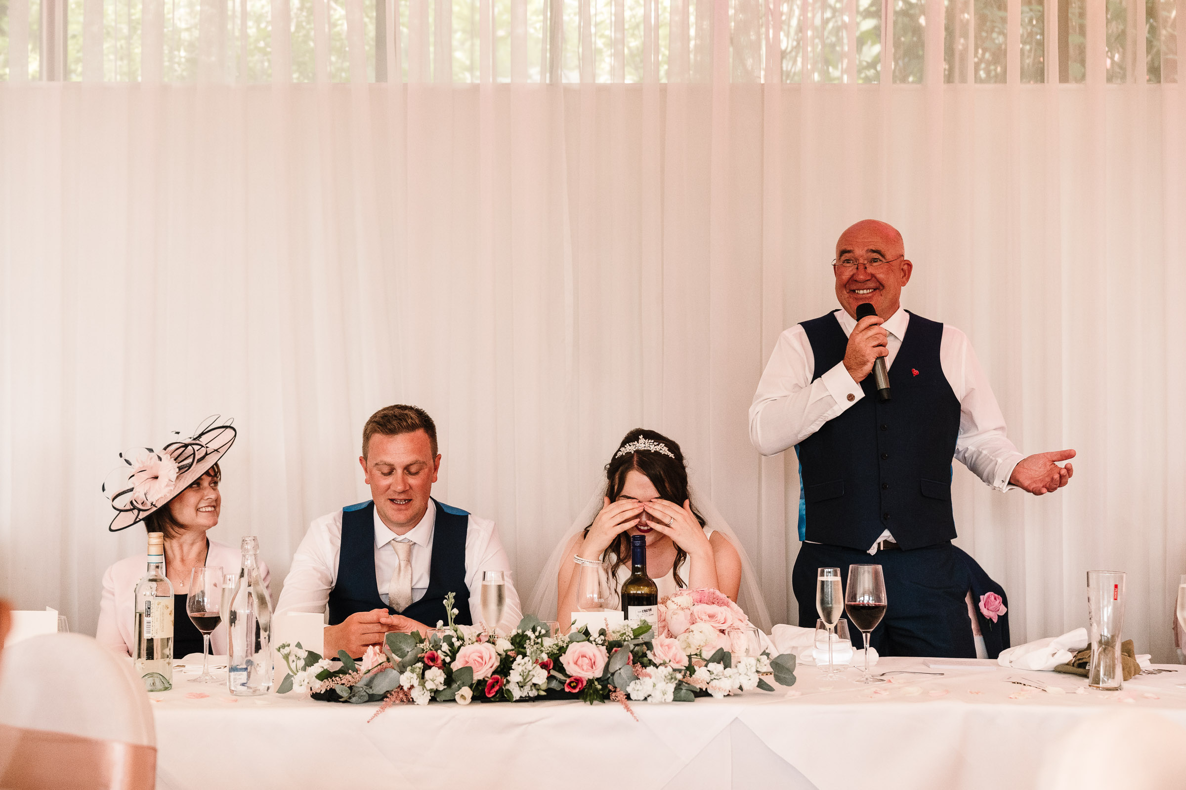 father of the bride speech at the wood norton wedding